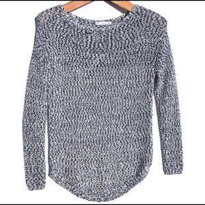 | Zara | open knit woven sweater